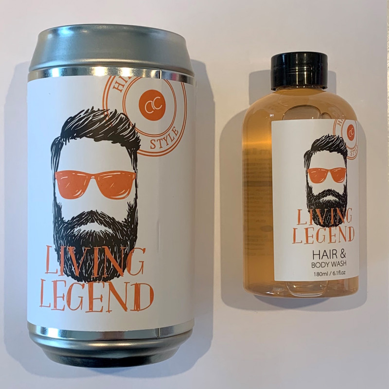 Mr Hair&Body Wash inkl Spardose Living Legend