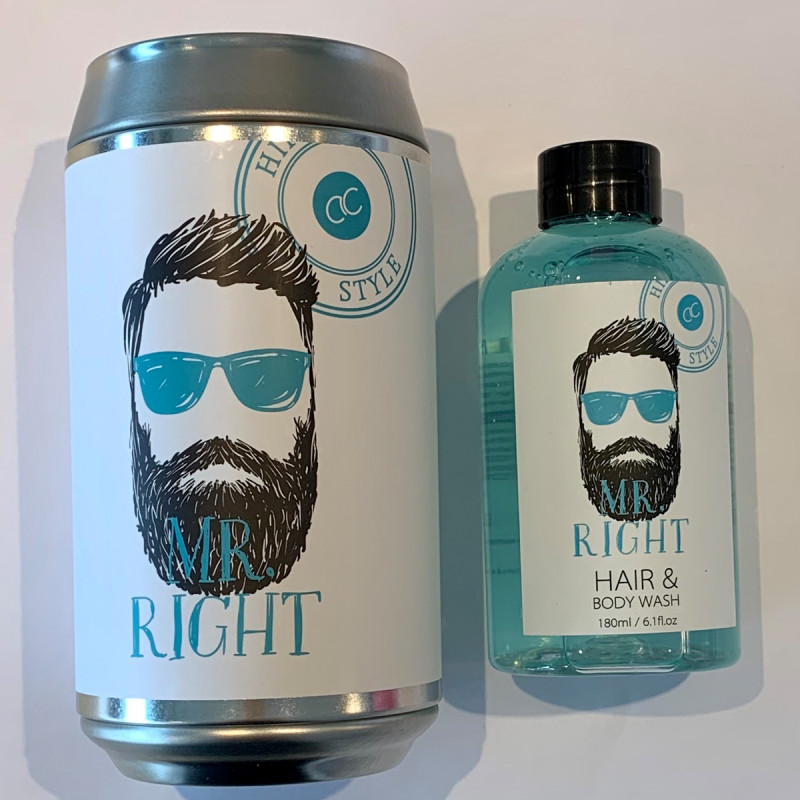 Mr Hair&Body Wash inkl Spardose Mister Right