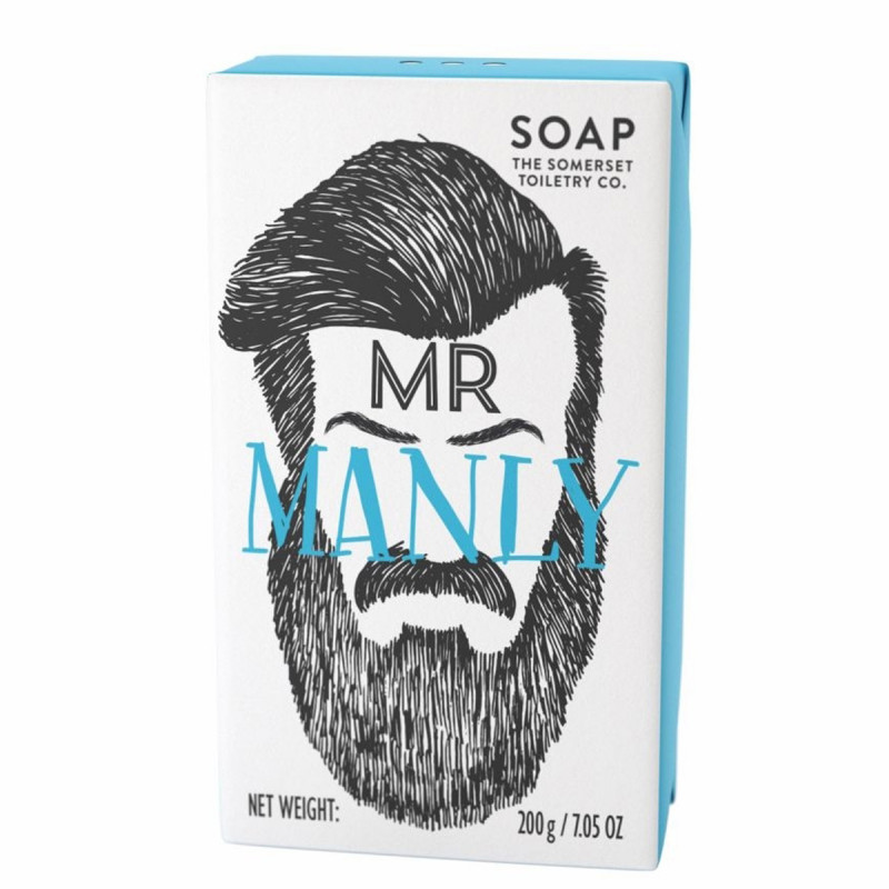 Mr Soap Mr Manly