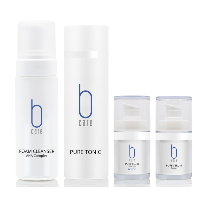 BCARE BOX FACE PURE 195.- statt 230.-