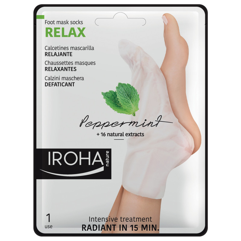 IROHA Foot Peppermint Relaxing Socks