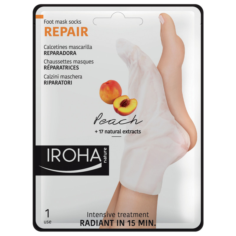 IROHA Foot Peach Repairing Socks