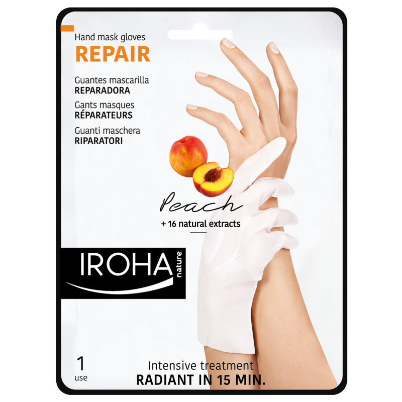 IROHA Hand Peach Regeneration Glovs