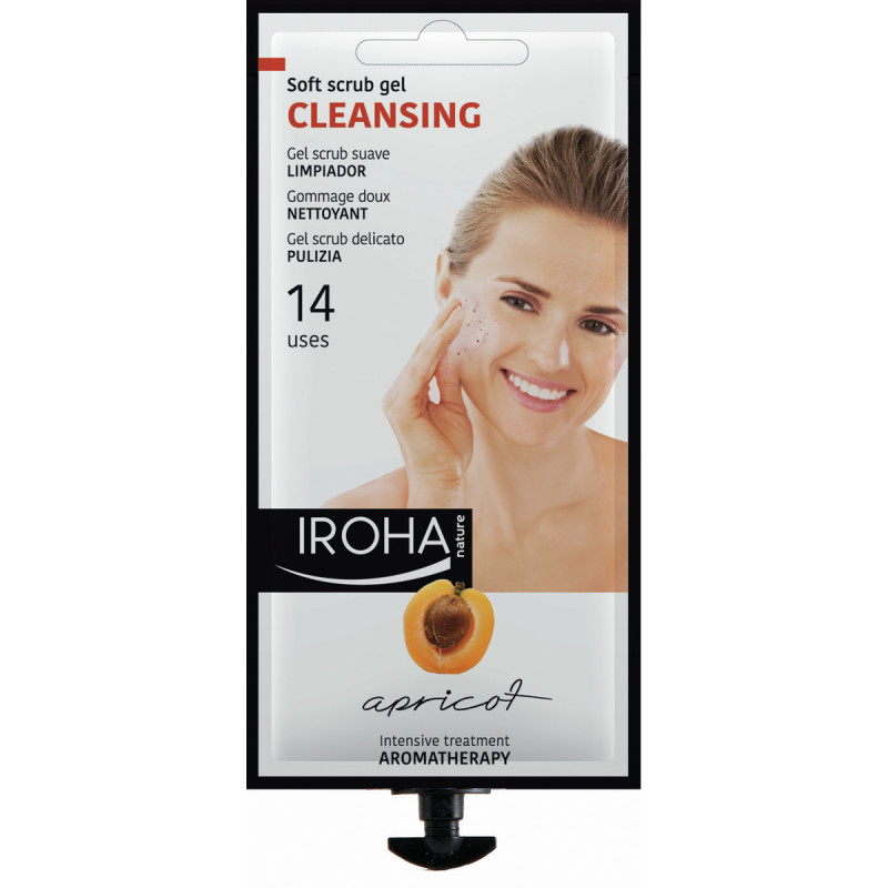 IROHA Beautytime Cleansing Apricot Soft Srub Gel