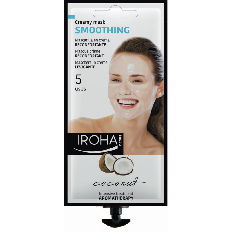 IROHA Beautytime SMOOTHING COCONUT Mask