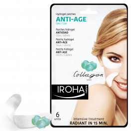 IROHA Hydrogel Patches Anti-Age (Hydrierend & Regenerierend)