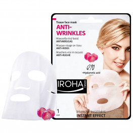 IROHA Tissu Mask Anti-Wrinkle Q10/Collagen/Hyaluronsäure
